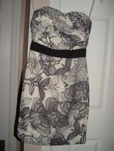 H&M Cream and Gray Dress Size 6 - $37.00