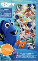 Disney Pixar Finding Dory - Includes Puffy Stickers 4 Sheet Sticker Book - $8.90