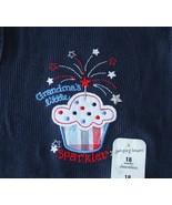 Jumping Beans Toddler Girls Grandmas Girl Sleeveless Patriotic Knit Top ... - $9.89