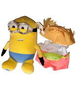 Build a Bear Minions Dave with 2pc. Tourist Outfit 14in. Stuffed Plush M... - $112.99