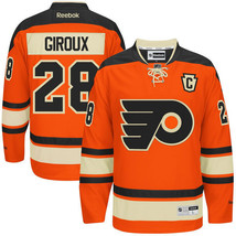 Reebok NHL Philadelphia Flyers Giroux Premier HOCKEY Jersey Mens LACE TO... - €106,13 EUR