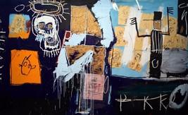 "Jean-Michel Basquiat ""SLAVE AUCTION"" HD print on canvas huge wall pictur... - $31.67"