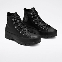 Converse Womens CTAS Lugged Winter Hi Boot Gore-Tex 566155C Black NWB - $84.98