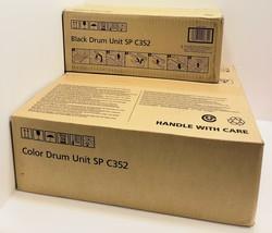 RICOH - SP C352 - CMYK - COMPLETE DRUM UNIT SET - 408223 - 408224 - OEM ... - $350.99