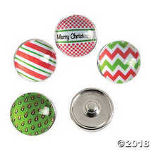 Large Christmas Snap Beads - $10.63