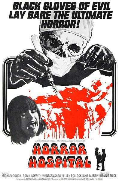 Primary image for Horror Hospital - 1973 - Movie Poster