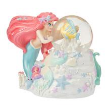 Snow globe Dome Ariel & Flander, Sebastian MERMAID LAGOON Little Mermaid... - $78.09