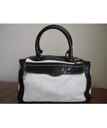 Classic Old School Rebecca Minkoff Morning After Bag Mini MAM Black and White - $149.00