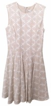 Diane Von Furstenberg DVF White Beige Size 0 Jeannie Henna Diamonds Dress NWT - $186.07