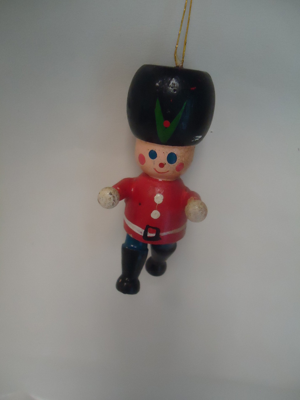 Retro Christmas Toy : Vintage wooden christmas decor toy soldier