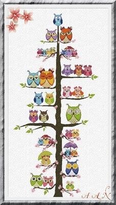 Owl family tree 2