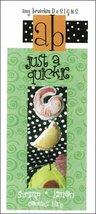 Shrimp Lemon Just A Quickie cross stitch Amy Bruecken Designs - $3.60