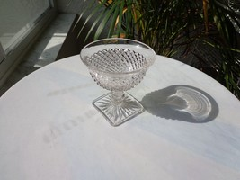 Anchor Hocking - Miss America Clear Sherbet Glass c1935-1938 - $7.92