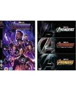 4 Movie Collection - Avengers Endgame + Trilogy [ Ultron, Infinity War] ... - $24.97