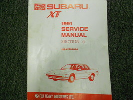 1991 Subaru XT Electrical Wiring Service Repair Shop Manual FACTORY FEO ... - $39.55