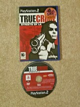 True Crime Streets Of LA Sony Playstation 2 PAL PS2  2003 - $4.08