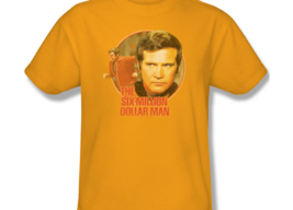 The Six Million Dollar Man Colonel Steve Austin Retro 70's graphic tee NBC526 image 2