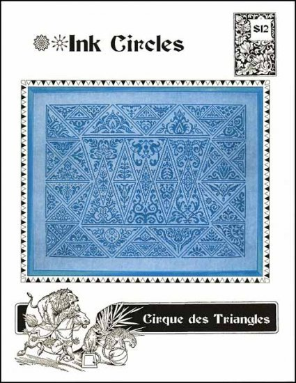 Cirque des Triangles cross stitch chart Ink Circles