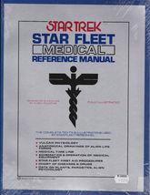 STAR TREK STAR FLEET MEDICAL REFERENCE MANUAL  1977 ILLUSTRATED - RARE - $99.99