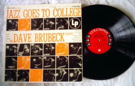 Dave Brubeck Jazz Goes To College 6-eye LP VG+ Paul Desmond Take the A T... - $19.98