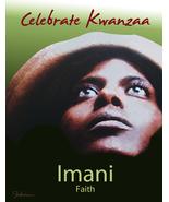 Kwanzaa: Imani (Faith) - $3.25