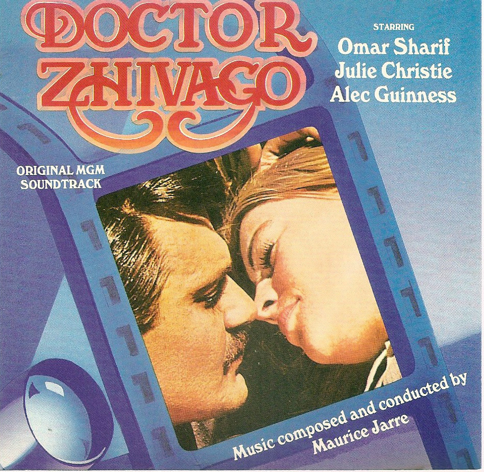 Doctor Zhivago soundtrack Maurice Jarre CD Lara's Theme Somewhere My Love Dr.