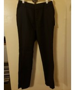 W53 NWT A New Day Solid Black Dress Slacks Stretch Curvy Ankle Size 2 - $9.74