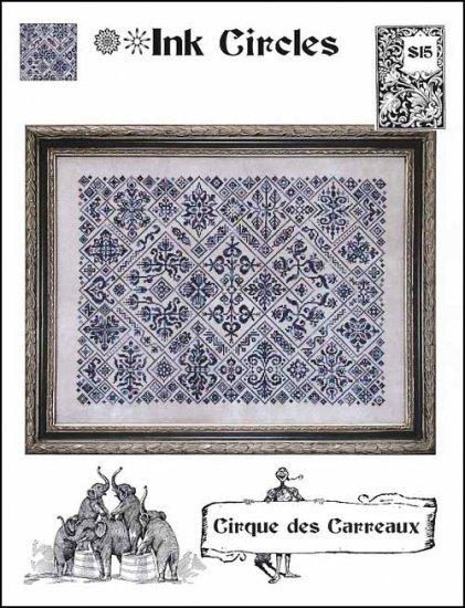 Cirque des Carreaux cross stitch chart Ink Circles