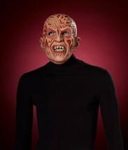 Freddy Krueger Vinyl Mask Horror Adult Halloween Costume Accessory - $21.15