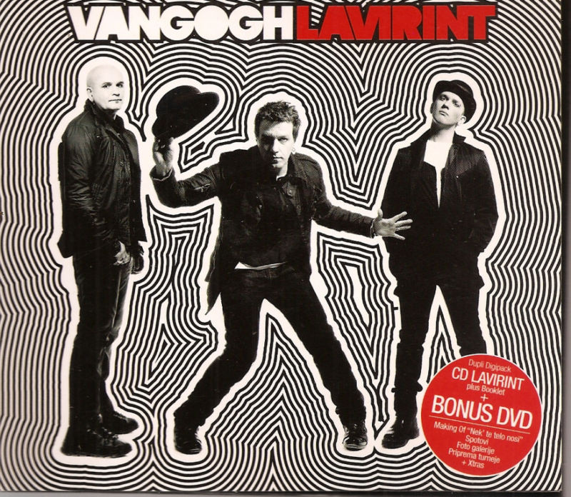 Lavirint Van Gogh CD + DVD Serbian alternative rock Belgrade Serbia 2009