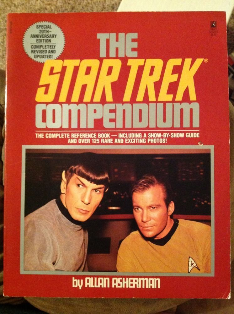 Primary image for The Star Trek Compendium Complete Reference Book 20th Ann. Edition