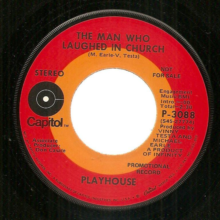 Playhouse Love Means Capitol 45 sunshine pop soft rock weird psych b- Hal Blaine