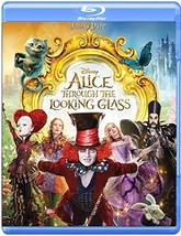 Disney Alice Through the Looking Glass [2016, Blu-ray/DVD]