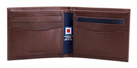 Nautica Men's Genuine Vintage Leather Credit Card ID Billfold Passcase Wallet image 14