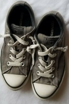 Converse Chuck Taylor All Star Ox Low Charcoal Gray Sneakers Boys Size 2 - $15.00