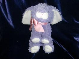 Animal Adventure 2009 Stuffed Plush Lavender Purple Bunny Rabbit Doll Toy Lovey - $14.10