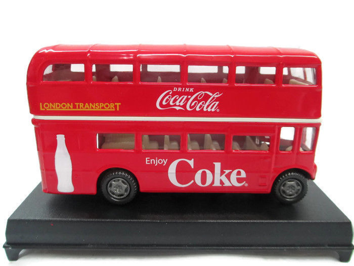 Coca-Cola London Double-Decker Bus Routemaster 1:60 Scale Red- BRAND NEW