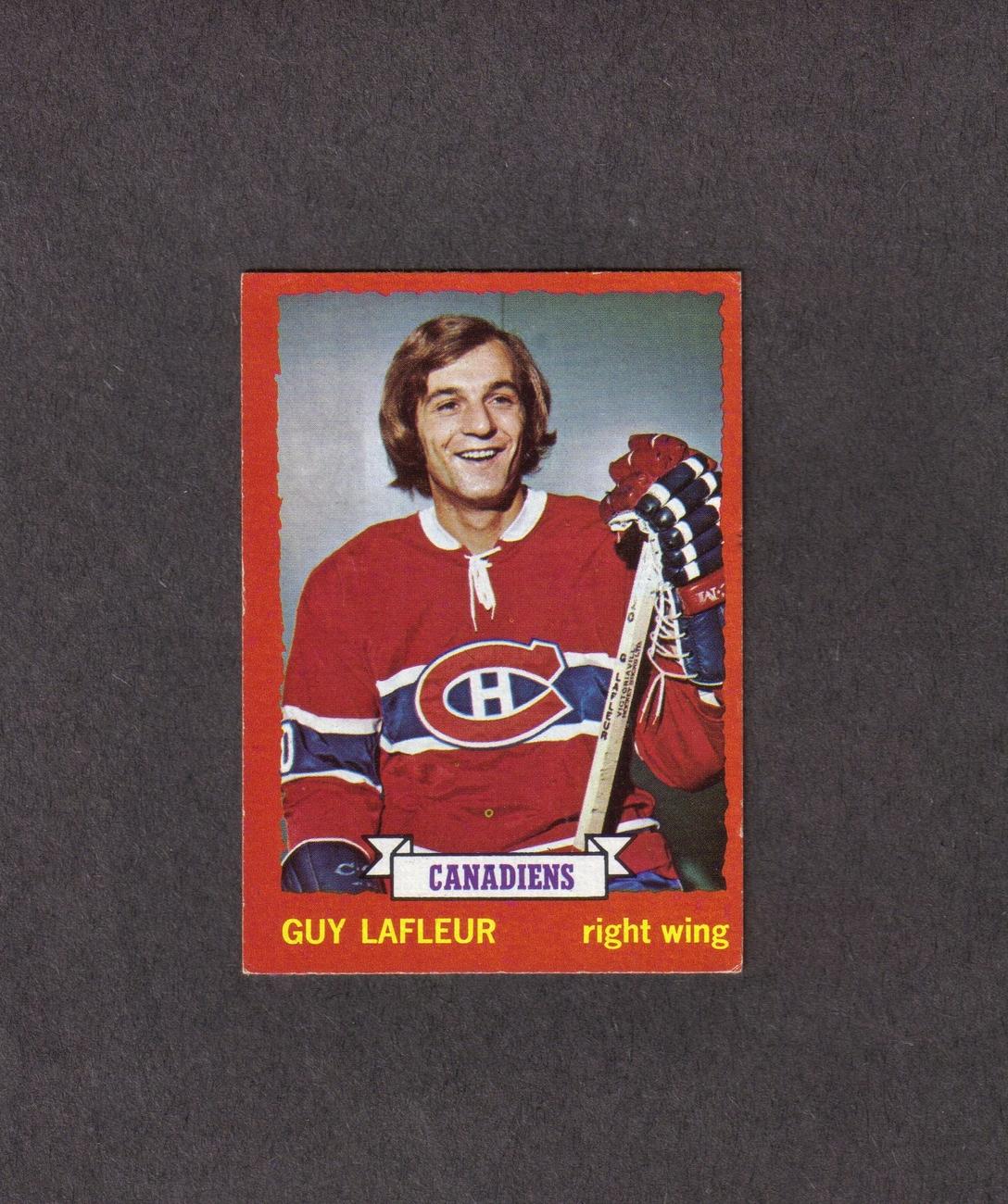1973-74 Topps # 72 Guy LaFleur Montreal Canadiens Bonanza