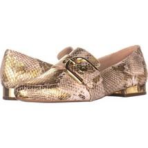 MICHAEL Michael Kors Cooper Slip-On Loafers 225, Natural/Gold, 6.5 US / ... - $54.71