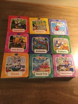 Disney Book Block Set Of 9 Board Books. Mickey Mouse Club House - $9.89