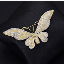 Fashion Crystals Butterfly Brooch 2019 - $34.95
