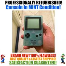*NEW GLASS SCREEN* Nintendo Game Boy Pocket GBP Glow in the Dark System ... - $54.40