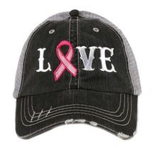 Love Pink Ribbon Trucker Hat - $22.99