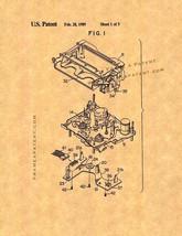 VCR Patent Print - $7.95+