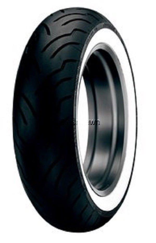 New Dunlop American Elite WWW Wide Whitewall MU85B-16 Rear Tire
