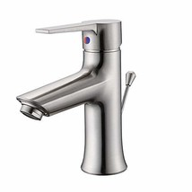 Bathroom Sink Faucet with Drain Assembly, 1 Hole Single Handle Basin Fau... - $44.95