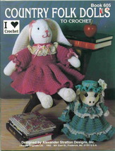 Kappie originals country folk dolls to crochet thumb200