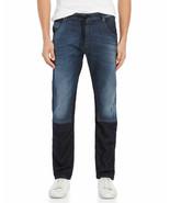 NWT $348 Diesel Jeans Jogg Krooley Sweat Jeans Wash 678N Two Tone sz 26 - $136.62