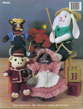 Kappie originals country folk dolls to crochet 1 thumb200