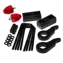 "For 92-99 Chevrolet Suburban 1500 3""+2"" Steel Suspension Lift Kit 4X4 +Bump Stop - $212.75"